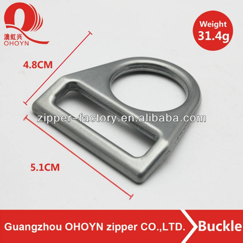 Fashion custom color handbag hardware metal buckle for bag