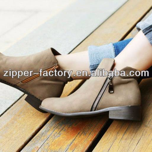 Alluring Fashion Metal Zipper for shoes