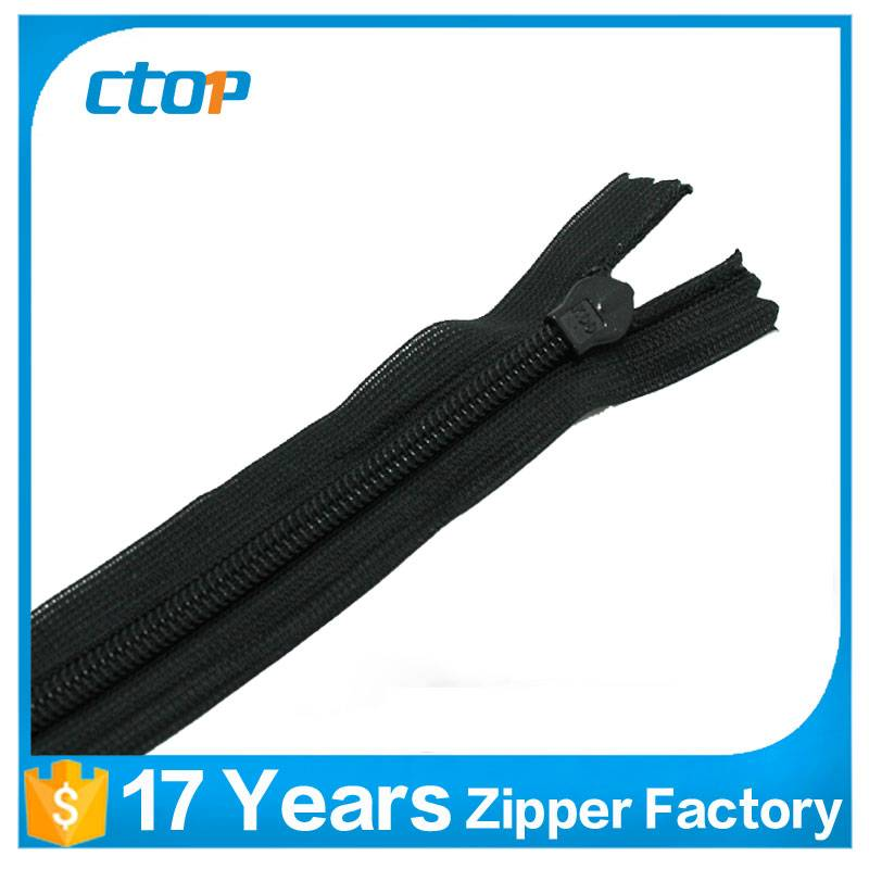 professional manufacturer invisible zipper 10