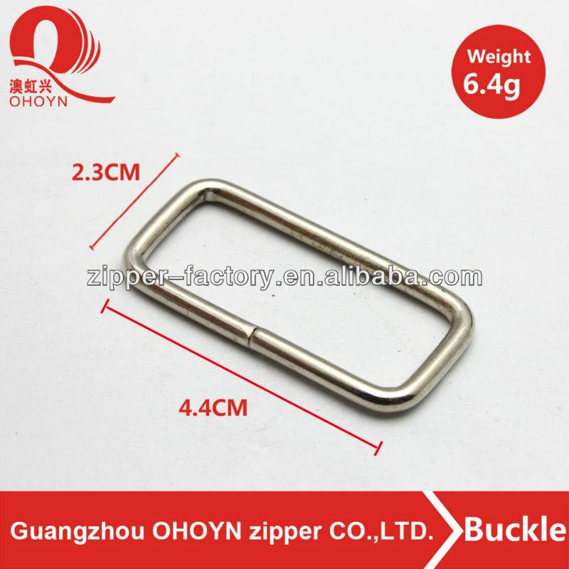 Factory sale gun metal hardware pin buckle