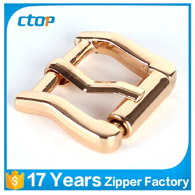 manufacturers parts custom bag aluminium die casting non metal belt buckle