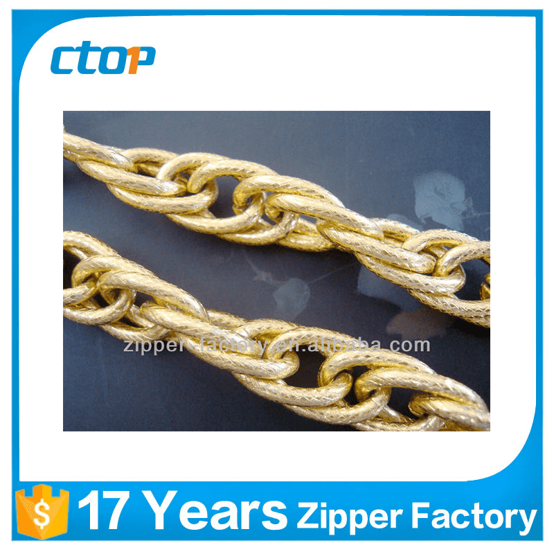 chain supplier custom fashion gold plated chains for decorative