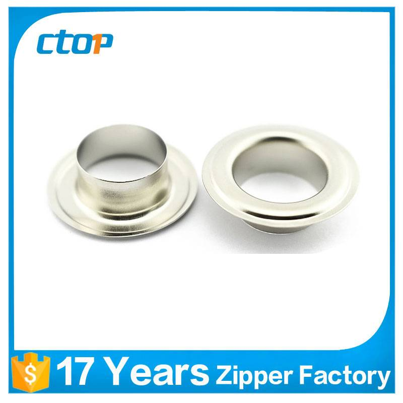 chinese factory metal grommets for handbags