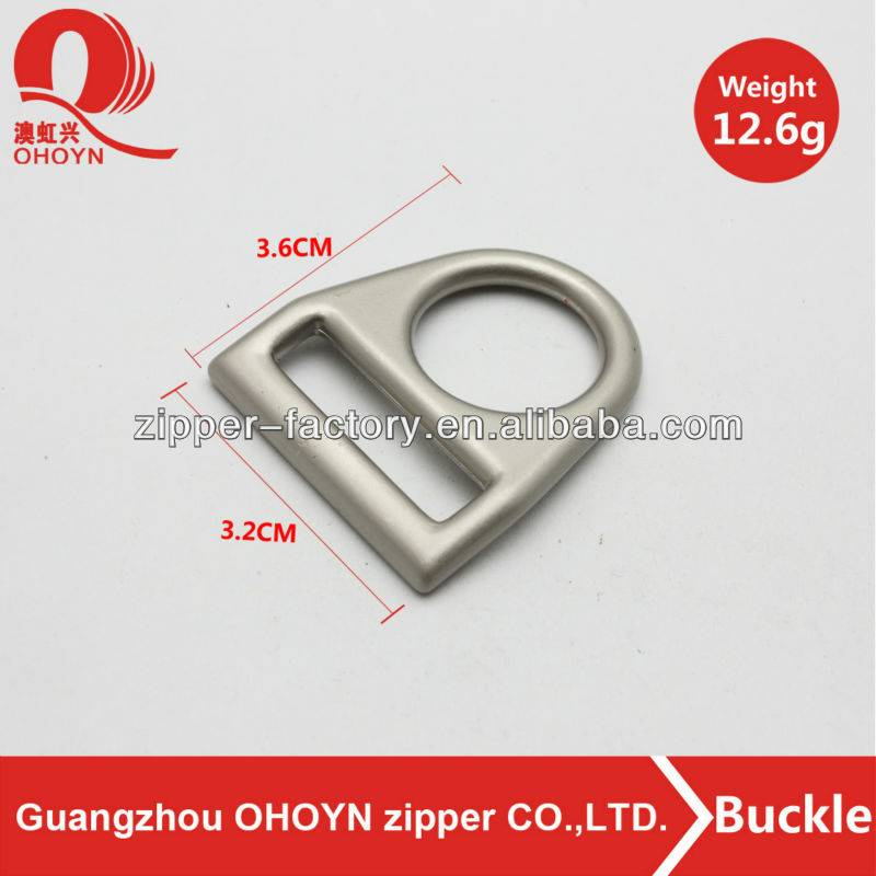 chinese factory custom lock metal bag buckle