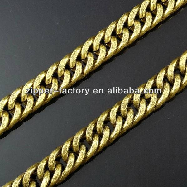 Professional guangzhou custom metal chains for handbags