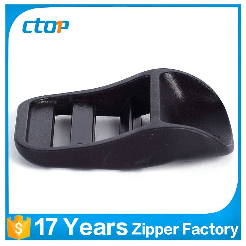 custom double pin fashion plastic buckle for belt