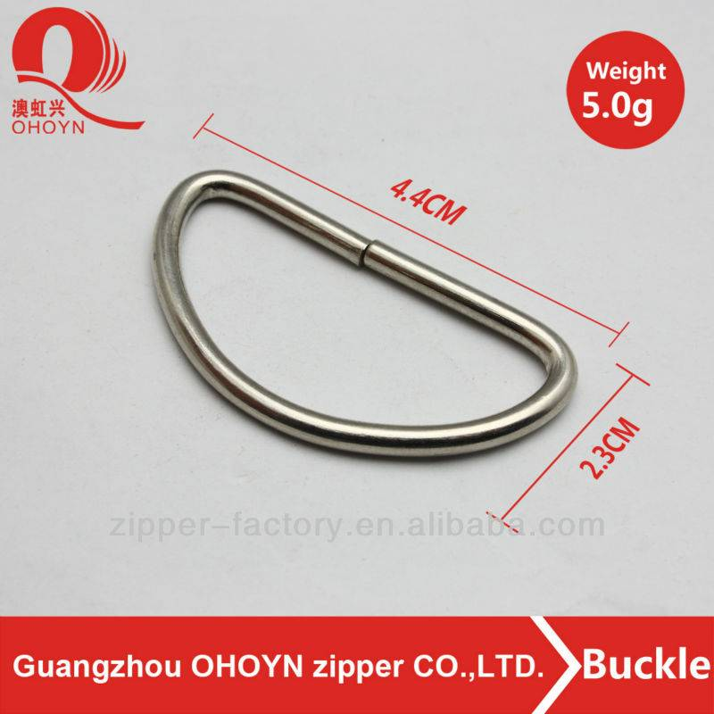 new products wholesale metal d ring belt
