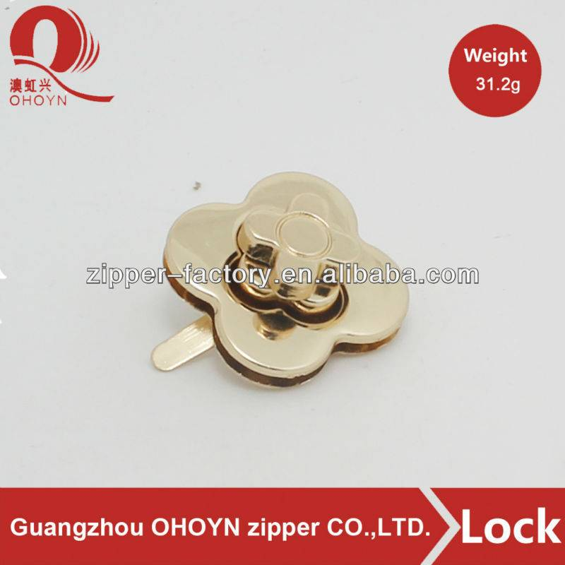 Low MOQ for Bag Accessories Hardware - 2016 new products bag push lock accessories – MEGA TRIMMING