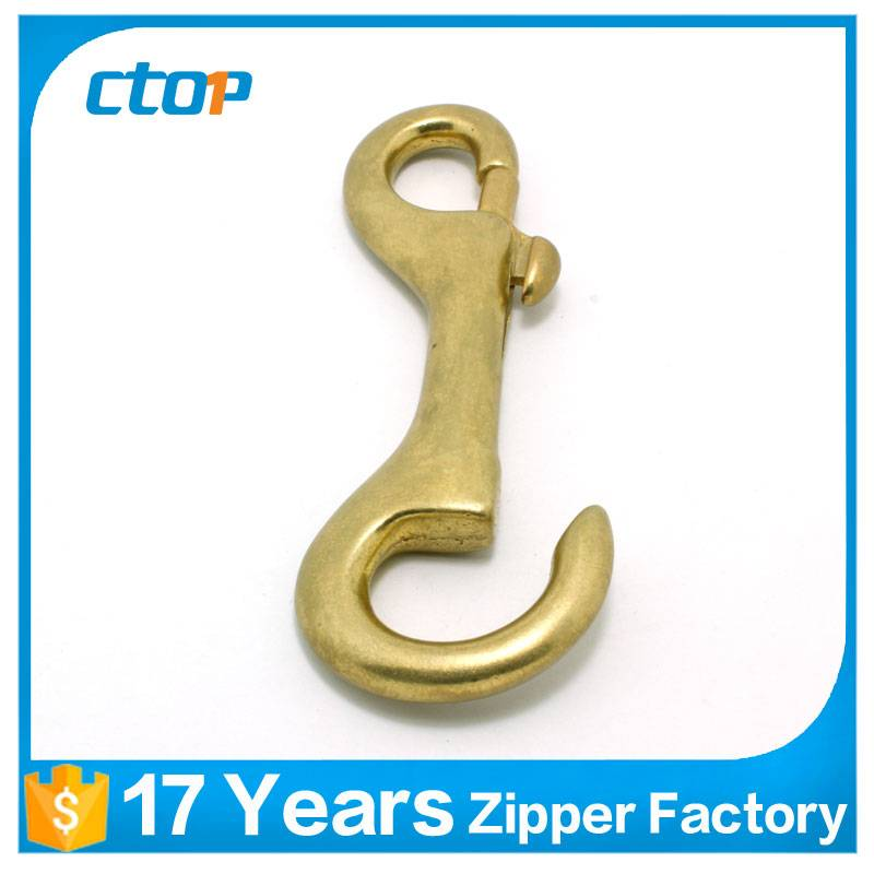 wholesale fashion antique metal bag brass s hook loop
