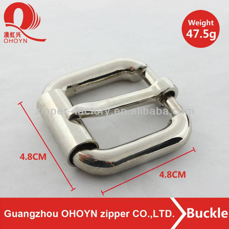 Fashion rectangle shape and especial buckle nickel square type of belt buckle