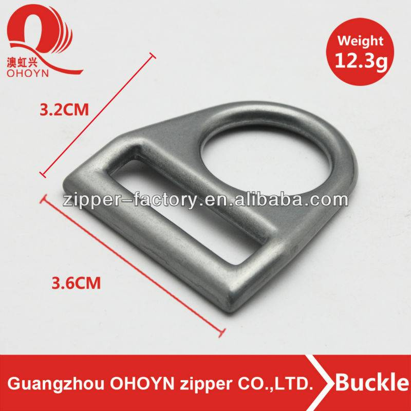 Fashion metal buckle custom color bag accessory buckle good quality belt buckle