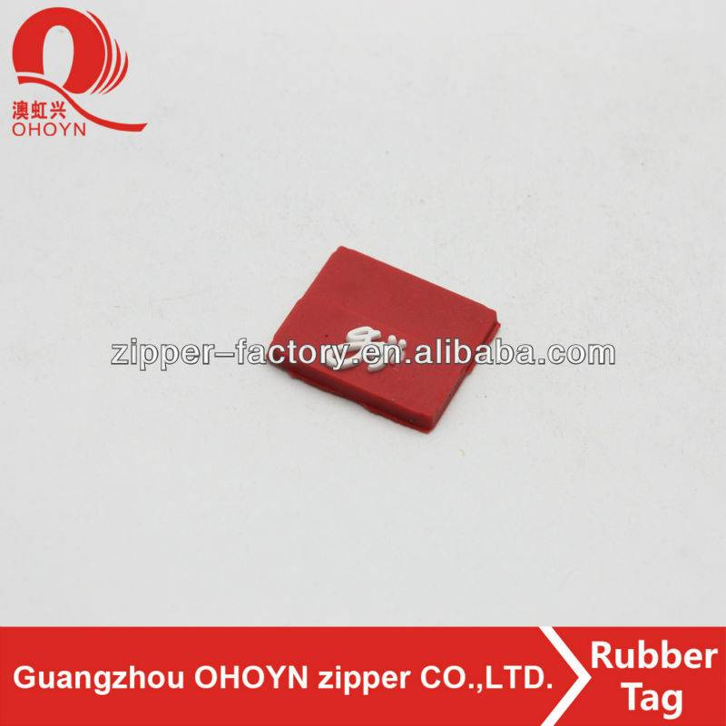 Quality Inspection for Ornament 100% Wool Felt Ball - custom square red pvc rubber patch tag luggage – MEGA TRIMMING