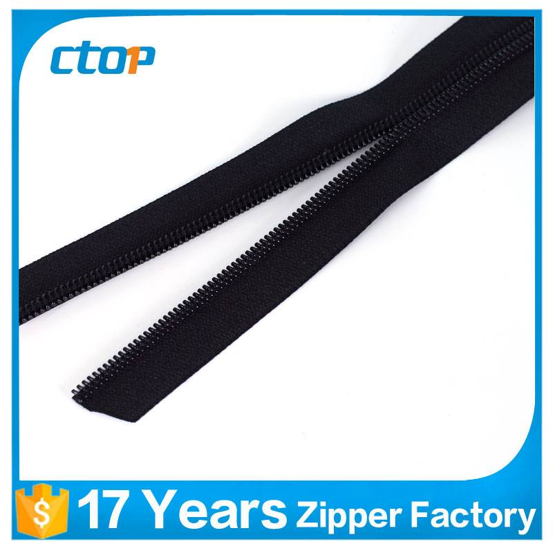 No.5 long chain PVC waterproof resistant zipper