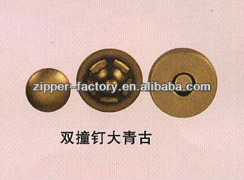 anti brass metal magnetic snap for bag