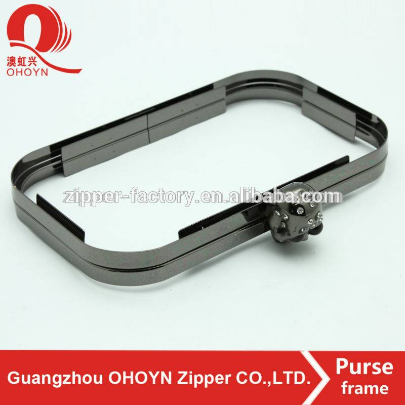 factory reasonable price bag parts metal purse frame