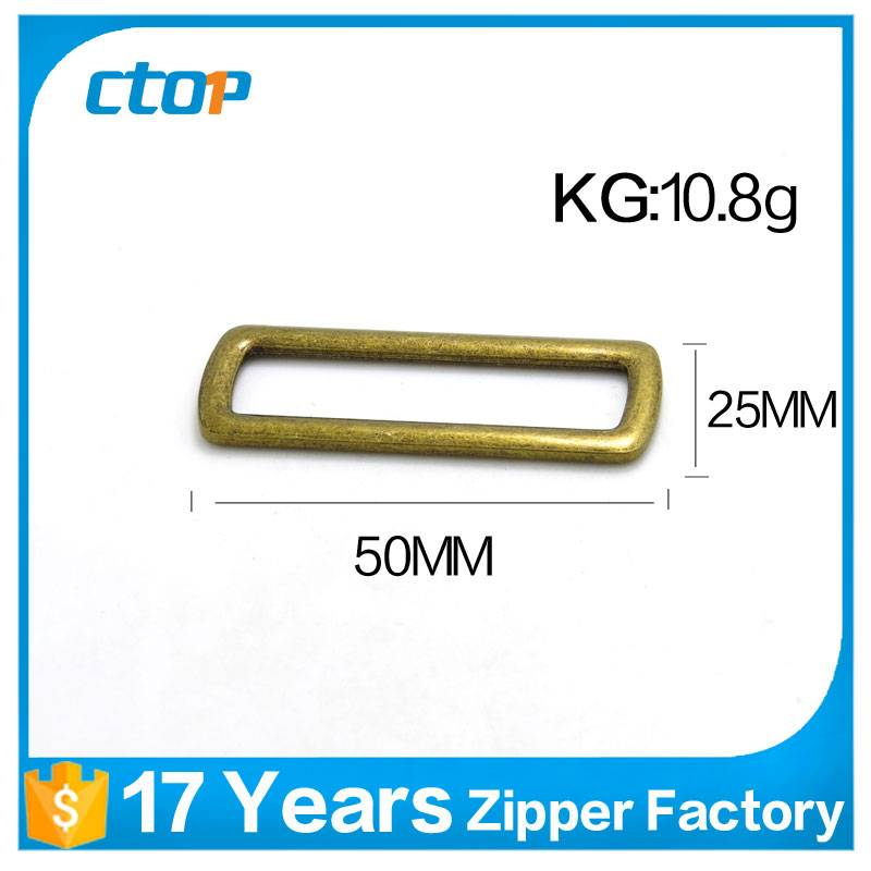 custom hardware accessories metal buckle for bag