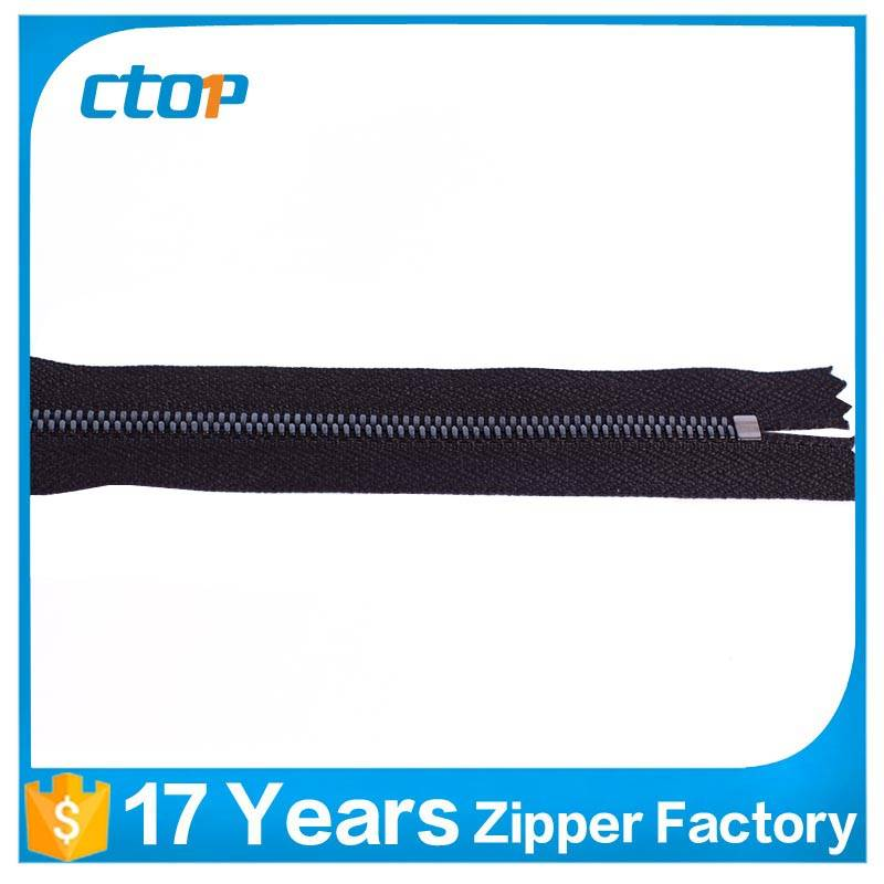 high quality low price custom metal zipper for garment
