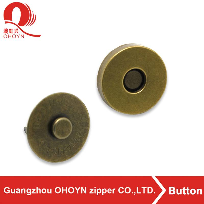 guangzhou factory wholesale push button for clothes