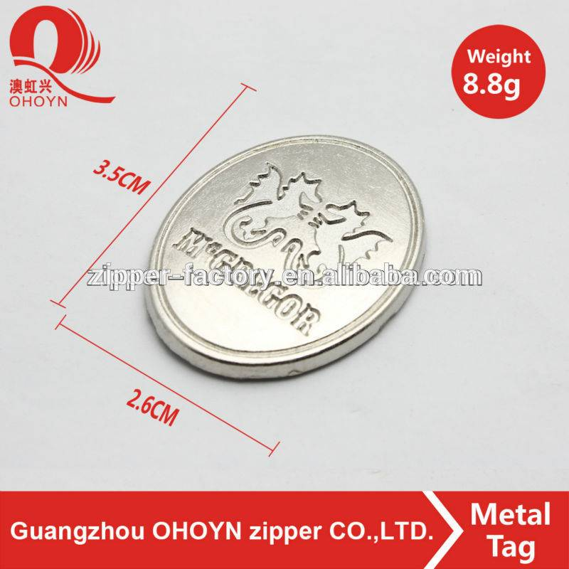 Reliable factory logo plate metal