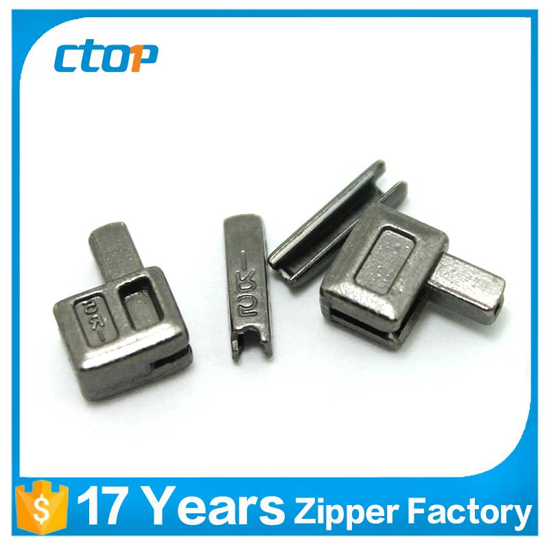 guangzhou factory zipper pin and box metal