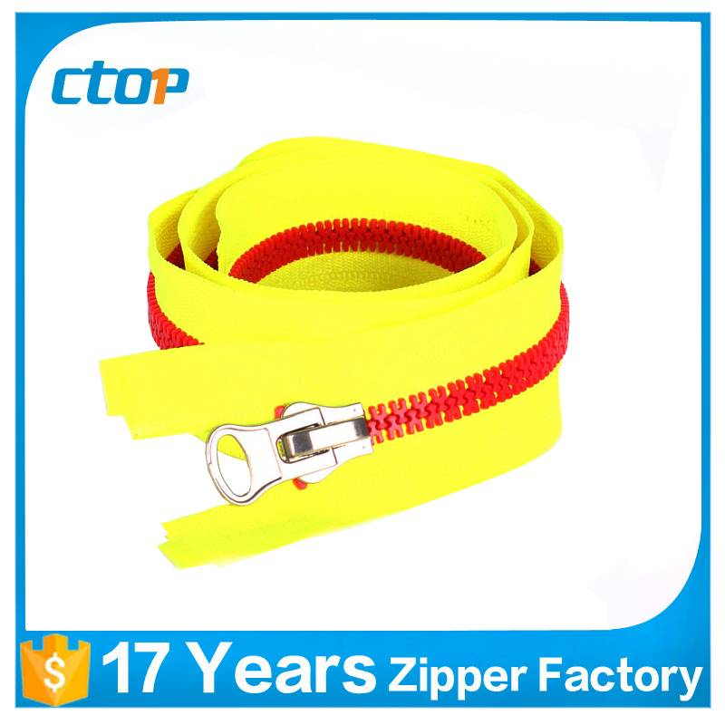 high quality low price custom zipper for bag