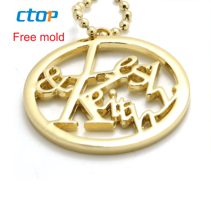 factory Outlets for Black Plastic Handle - Fashion decorative factory price bag hardware brand name logo gold plated metal tag custom metal logo label for handbags – MEGA TRIMMING