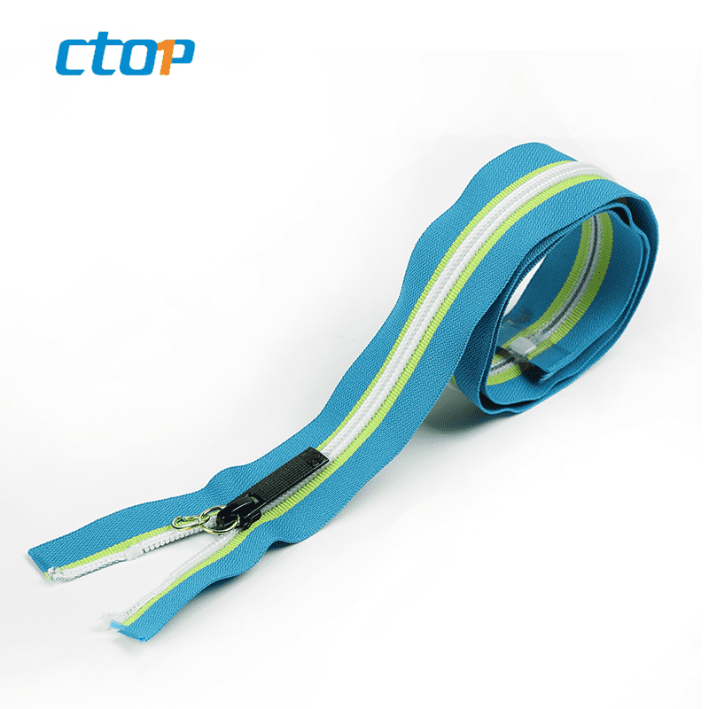 Guangzhou factory wholesale zipper custom nylon coil zip