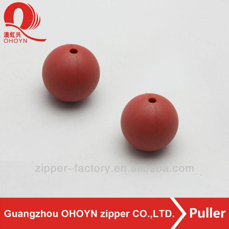 especial round plastic accessory red ball handbag decorations