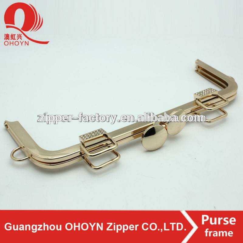 alibaba wholesale clutch frame handbag metal