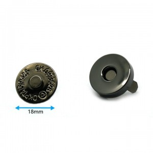 Wholesale 14mm Metal Magnetic Snap Button For Bag