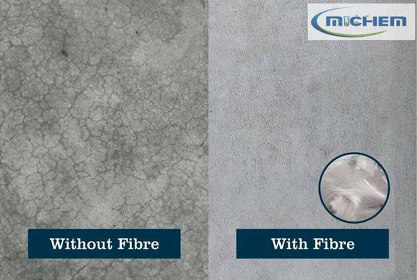 MICHEM Polypropylene PP Fiber in Concrete