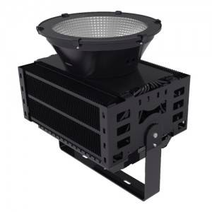 MIC Best price outdoor Stadium LED floodlight 1000W outside industrial led lights
