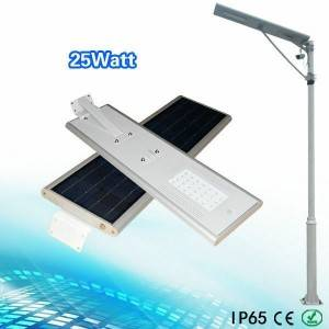 25w all in one solar led street light