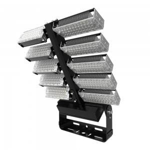 160lm/w Listed Super Ultra Etl Dlc Thin 1000w Ip66 Smd Portable Slim 1200W Led Flood Light