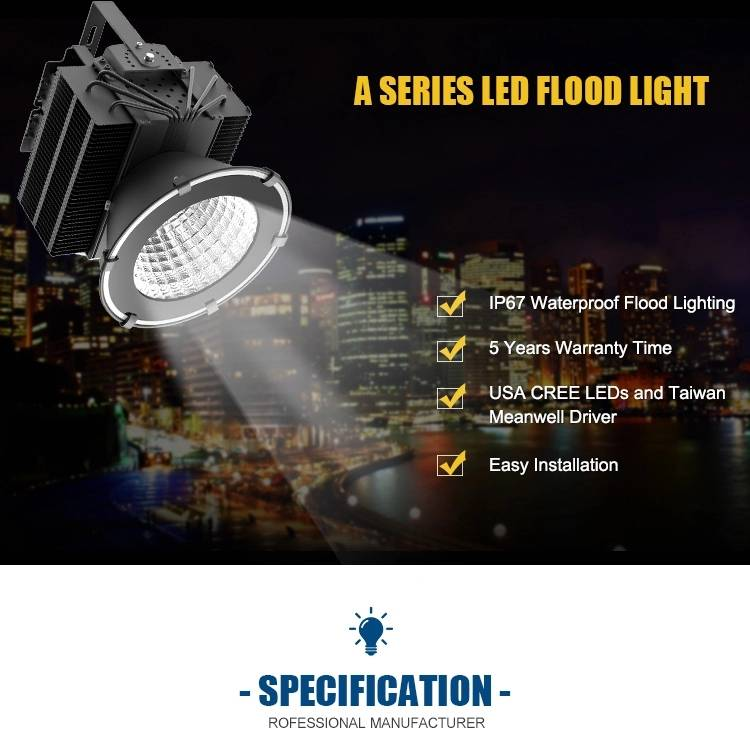 led flood light 500w