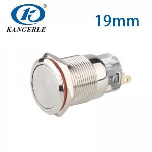Push switch 19mm