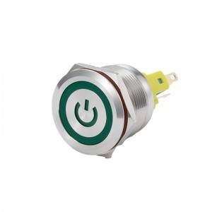 Normally open micro switch smd push button micro switch 22mm green led