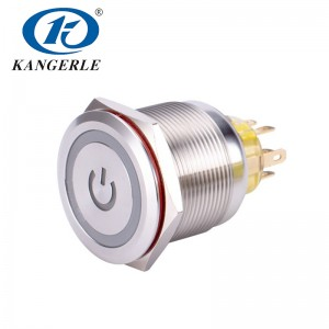 Push button lamp switch 25mm