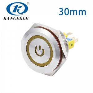 Push button switch 30mm