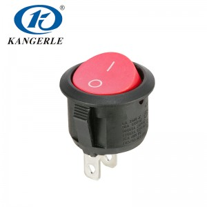 Rocker switch KCD1-201 2P 01