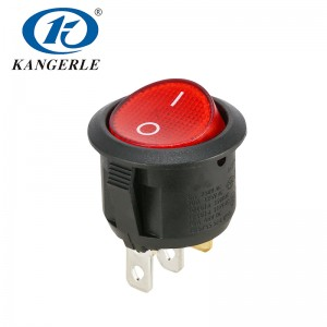 Rocker switch KCD1-201N 2P