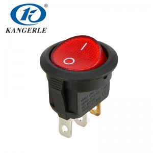 Rocker switch KCD1-202N 3P
