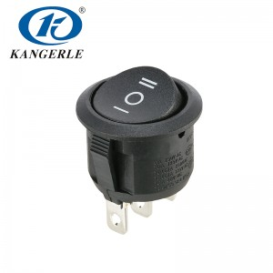 Rocker switch KCD1-210D 3P