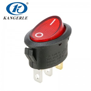 Rocker switch KCD1-311N 3P