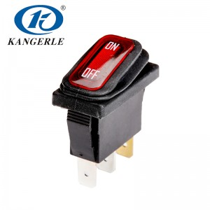 Waterproof Rocker Switch KCD2-11NF