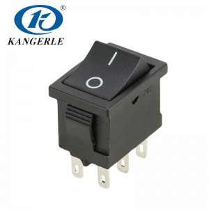 Rocker switch KCD2-202 6P