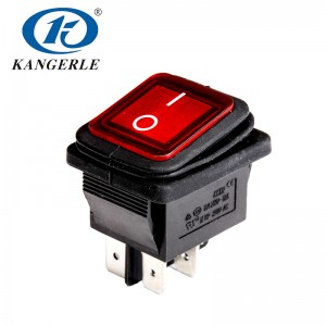 Waterproof Rocker Switch KCD2-21NFS