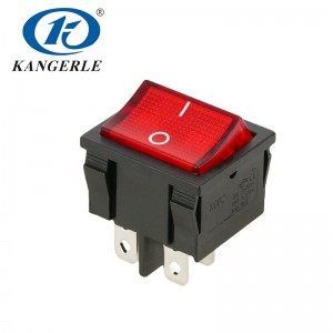 Rocker switch KCD2-501N 4P