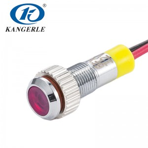 Waterproof led indicator led light indicator KEL6A-D 6FXPI