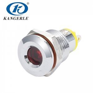 Waterproof led indicator ip65 8mm led indicator light KEL6A-D10CPR